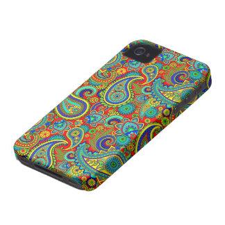 Vintages buntes Orante Paisley Case-Mate iPhone 4 Hüllen