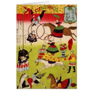 Vintages CircueSoulie Karte