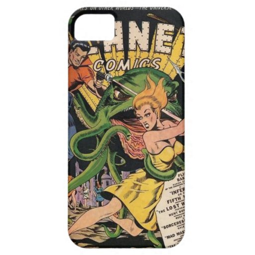 Vintages Comic iPhone 5/5S, kaum dort Fall iPhone 5 Etui