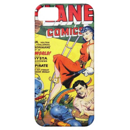 Vintages Comic iPhone 5/5S, kaum dort Fall iPhone 5 Case