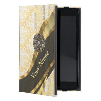 Vintages Damastmuster des personalisierten Hülle Fürs iPad Mini
