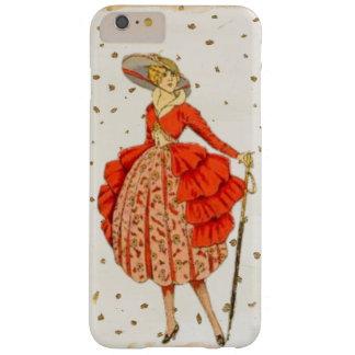 Vintages Dame iPhone/iPad Fall Barely There iPhone 6 Plus Hülle