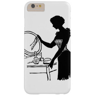 Vintages Dame u. Eitelkeit nobles iPhone/iPad Fall Barely There iPhone 6 Plus Hülle