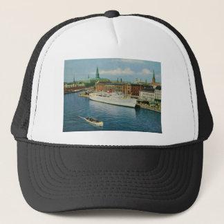 Vintages Dänemark, wunderbares Kopenhagen Truckerkappe