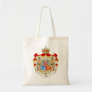 Vintages dänisches königliches Wappen von Dänemark Tragetasche