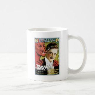 Vintages Dante, Europas Magier-Magie-Plakat Kaffeetasse