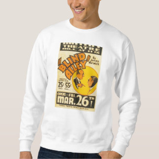 "Vintages darstellendes Kunst-""blinde Gasse"" WPA Sweatshirt"