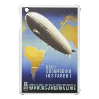Vintages deutsches Reise-Plakat iPad Mini Hülle