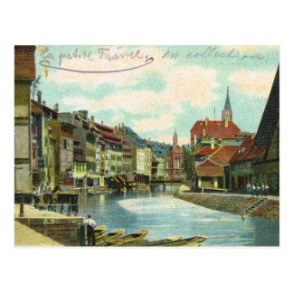 Vintages Deutschland, Strassburg, wenig Frankreich Postkarte