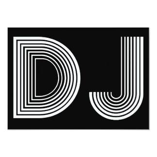 Vintages DJ 11,4 X 15,9 Cm Einladungskarte