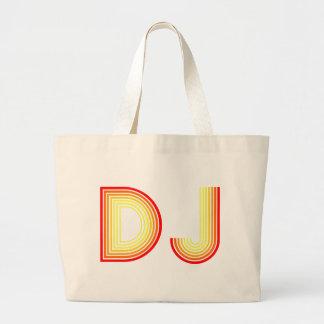 Vintages DJ Jumbo Stoffbeutel