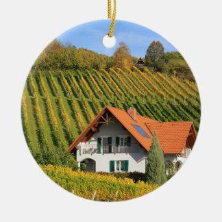 Vintages Dorf Weihnachtsbaum Ornament