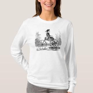 Vintages drei Rad-Fahrrad Trike T-Shirt
