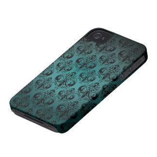 Vintages Druck-BlackBerry-mutiger Kasten iPhone 4 Case-Mate Hüllen