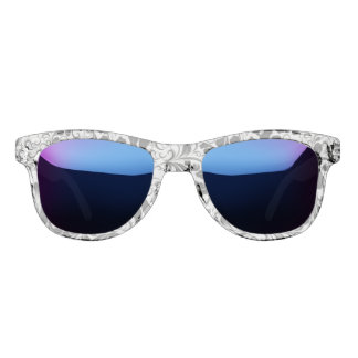 Vintages elegantes Schwarzweiss-boho Rebemuster Brille