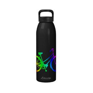 Vintages Fahrrad - Aluminiumwasser-Flasche Spektr Wiederverwendbare Wasserflaschen