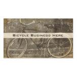 Vintages Fahrrad-Grungy Geschäfts-Karte Visitenkartenvorlagen