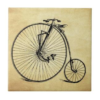 Vintages Fahrrad Kleine Quadratische Fliese