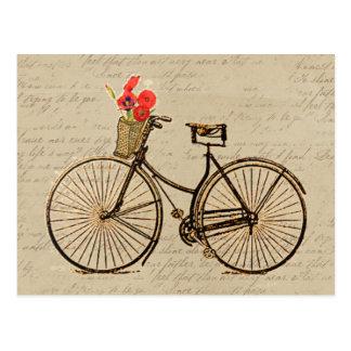 Vintages Fahrrad Postkarte