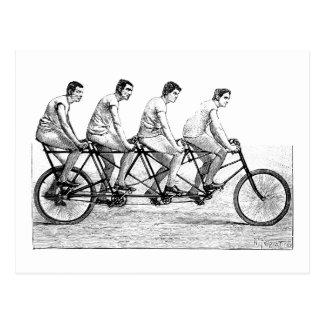 Vintages Fahrrad - Postkarte