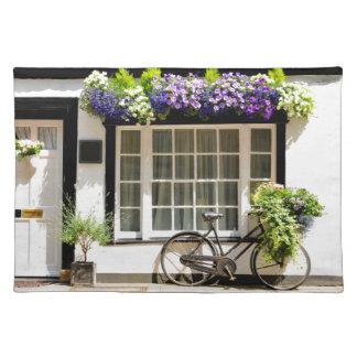 Vintages Fahrrad Stofftischset