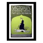 Vintages Fahrrad Victorias Fahrrad-Werke Postkarten