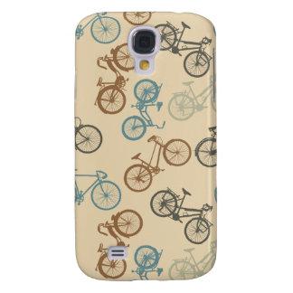 Vintages Fahrradmuster Galaxy S4 Hülle