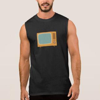 Vintages Farbfernsehen Ärmelloses Shirt