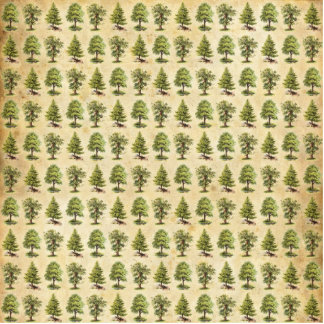 Vintages Feiertags-Baum-Muster Fotoskulptur Ornament