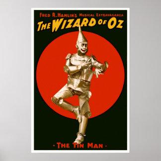 Vintages Film-Plakat - der Zauberer- von Poster