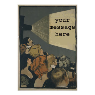 Vintages Film-Plakat Poster
