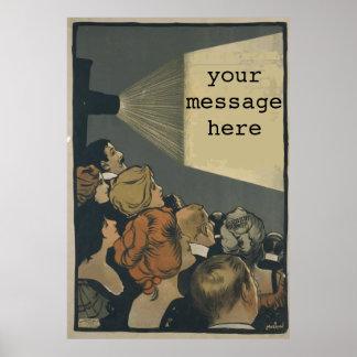 Vintages Film-Plakat