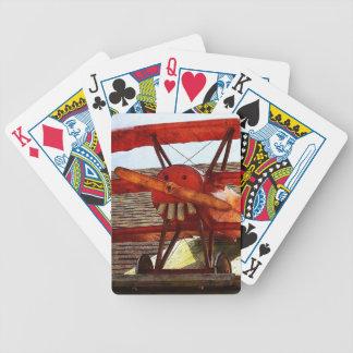 Vintages Flugzeug durch Shirley Taylor Bicycle Spielkarten
