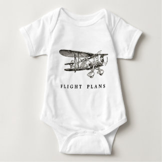 Vintages Flugzeug, Flug-Pläne Babybody