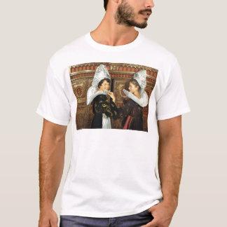 Vintages Frankreich, Bretonne Damen T-Shirt