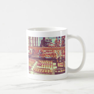 Vintages Frankreich-Makronengeschäft Kaffeetasse