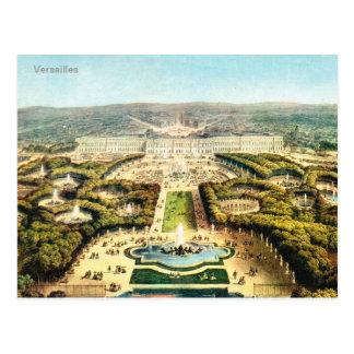 Vintages Frankreich, Palais De Versailles Postkarte