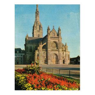 Vintages Frankreich St Anne D'Auray, Bretagne Postkarte