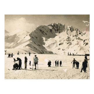 Vintages Frankreich Superbagneres Postkarten