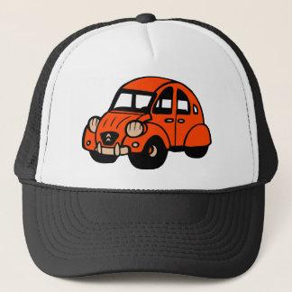 Vintages französisches Auto mit 2 Lebenslauf Truckerkappe
