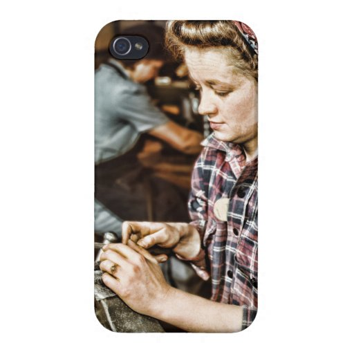 Vintages Frau ipad Fall-Mutter-Tagesgeschenk iPhone 4/4S Cover