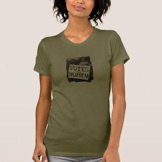 Vintages Frauen-Abstimmungs-Shirt T-shirt