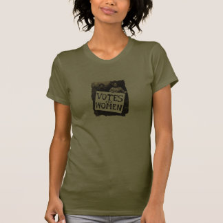 Vintages Frauen-Abstimmungs-Shirt T-Shirts