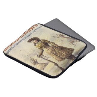 Vintages Fräulein Annie Oakley, Western-Cowgirl Laptop Sleeve