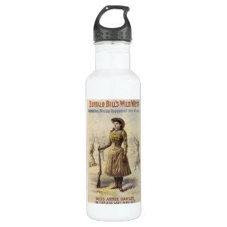 Vintages Fräulein Annie Oakley, Western-Cowgirl Trinkflasche