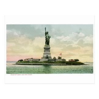 """Vintages """"Freiheitsstatue"""" Plakat. New York. Postkarte"""