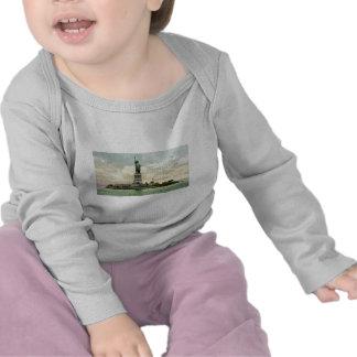 """Vintages """"Freiheitsstatue"""" Plakat. New York. T-shirt"""