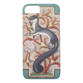 Vintages Frettchen iPhone 8/7 Hülle