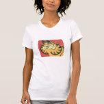 Vintages Garfield, das Shirt der Frauen