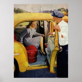 Vintages Geschäft, Poster